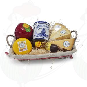 Dutch Giftbasket cheese and sweet