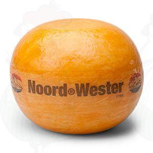 Edam-juusto | Korkealuokkainen North-West | +/- 1,6 kiloa / 3.5 paunaa