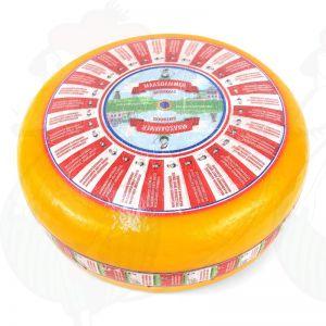 Maasdammer–reikäjuusto | Kokonaiset juusto +/- 12,5 kilo
