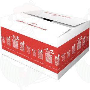 Lähetyslaatikko – Yllätyslahjalaatikko, punainen