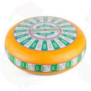 Nuori Gouda-juusto | Korkealuokkainen | Kokonaiset juusto +/- 12 kilo