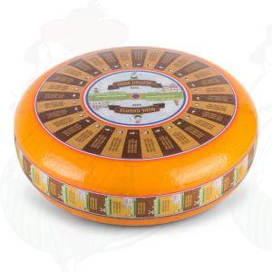 Ikääntynyt Gouda-juusto | Korkealuokkainen | Kokonaiset juusto +/- 12 kilo