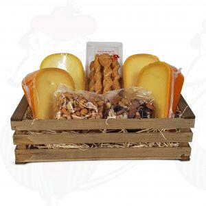 Large crafted cheese crate