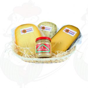 Dutch cheese and mustard