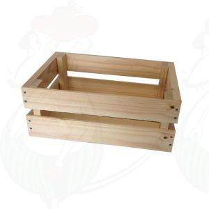 Pieni puinen kori - 29x19x11,5cm