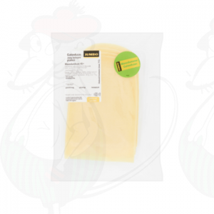 Sliced Holey Cheese Semi-matured 45+ | 200 grams in slices