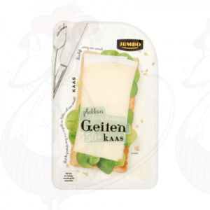 Sliced Goat Cheese Semi-Matured 50+ | 180 grams in slices
