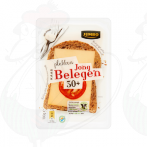 Sliced cheese Gouda Semi Matured 30+ | 190 grams in slices