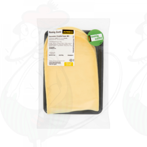 Sliced Gouda cheese Creamy 48+ | 230 grams in slices