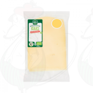 Sliced Organic Cheese Semi-Matured 48+ | 75 grams in slices