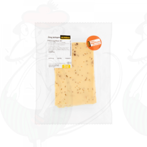 Sliced Frisian Clove cheese Semi Matured 40+ | 200 grams in slices
