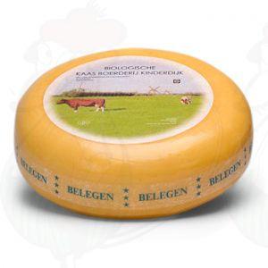 Kypsytetty ekologinen juusto | Korkealuokkainen | Kokonaiset juusto +/- 5,4 kilo