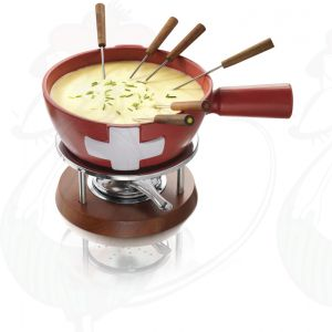 Swiss Cheese Fondue Set Boska