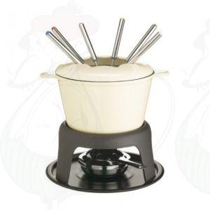 Fondue White - Cast Iron | Masterclass