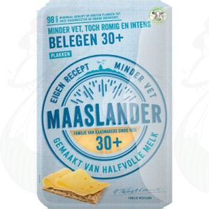 Sliced Maaslander Cheese Matured 30+ | 200 grams in slices