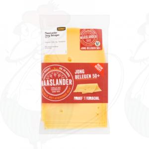 Sliced Maaslander Cheese Semi-Matured 50+ | 200 grams in slices