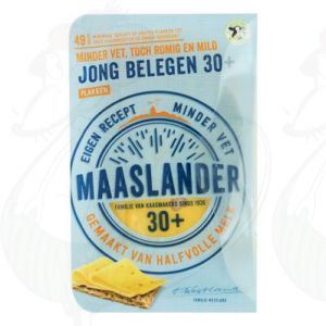 Sliced Maaslander Cheese Semi-Matured 30+ | 175 grams in slices