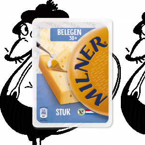 Sliced Milner Cheese Matured 30+ | 175 grams in slices
