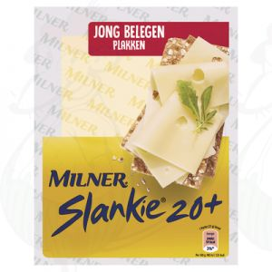 Sliced Milner Cheese Semi-matured 20+ | 175 grams in slices