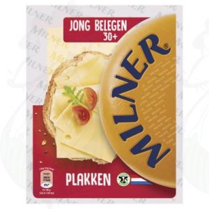 Sliced Milner Cheese Semi-matured 30+ | 175 grams in slices