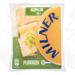 Sliced Milner Cheese Cumin 30+ | 175 grams in slices