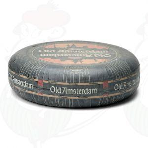 Vanha Amsterdam-juusto | Korkealuokkainen | Kokonaiset juusto +/- 11 kilo