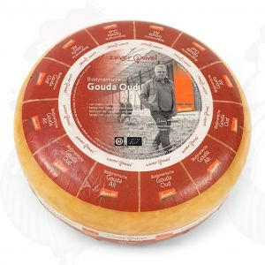 Old Gouda Organic Biodynamic cheese - Demeter | Entire cheese 5 kilo / 11 lbs