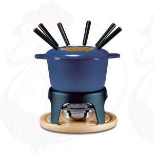 Fondue Pot Swissmar Sierra Cast Iron Deep Blue
