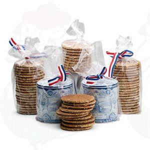 10 käsintehtyä Gouda-vohvelia vanhanaikaisessa hollantilaisessa keksitölkissä!