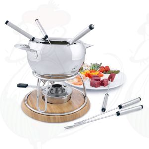Stainless steel Fondue set Geneva