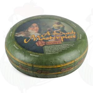 Vermeer kaas | Entire cheese +/- 11,5 kilo | 25.2 lbs | A Dutch Masterpiece