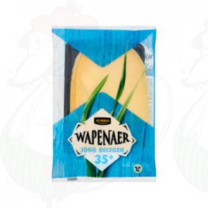 Sliced cheese Wapenaer Semi Matured 35+ | 170 grams in slices