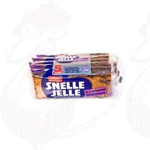 Wieger Ketellapper Snelle Jelle kruidkoek rozijnen - 5 repen - 350 gr