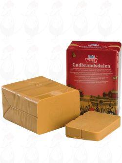 Gjetost Gudbrandsdalen   Norwegian Brown Cheese - Gudbrandsdalsost