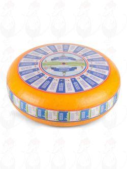 Kypsytetty Gouda-juusto   Korkealuokkainen   Kokonaiset juusto +/- 12 kilo